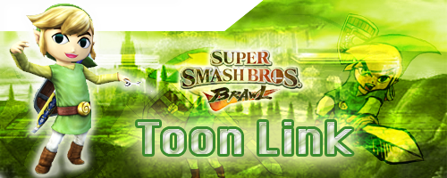 SSBB Toon Link Siggy by ChibiYugi