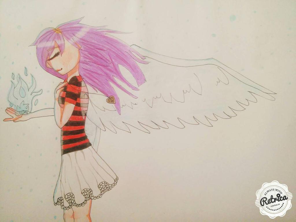 {OC} Angel {RANDOM} by GlitchySofie