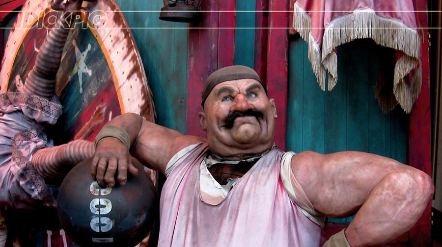 Circus Strongman by DickPig on DeviantArt