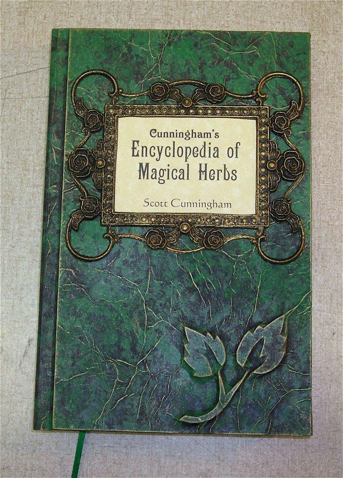 Encyclopedia of Magickal Herbs custom hadcover by RevMarx