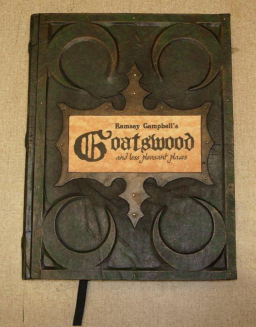 Goatswood custom hardcover by RevMarx