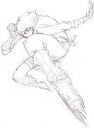 flying ROCK _sketch by sagatt