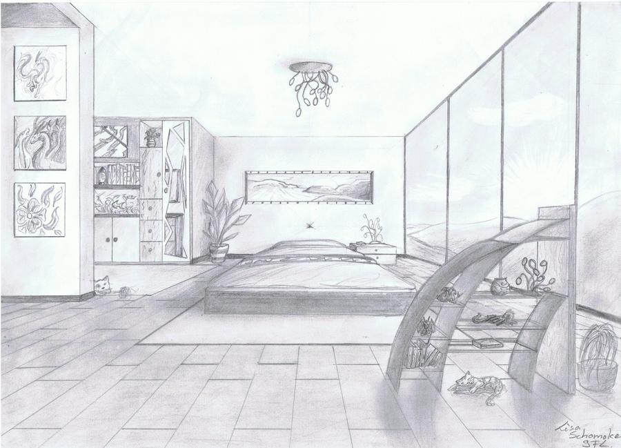 Drawing My Dream Room