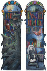 iD+Mind Bookmark by The-Purring-Teapot