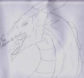 Roar Dragon by KnightsWalker912