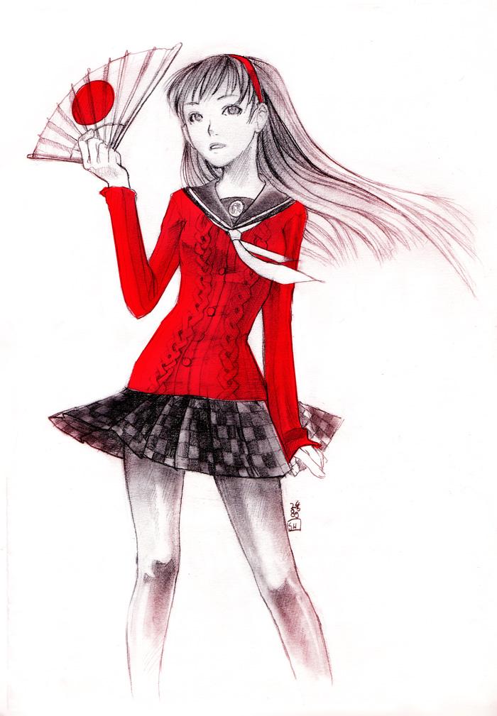 +fanart+ Yukiko by Renuski