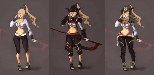 dragoon woman