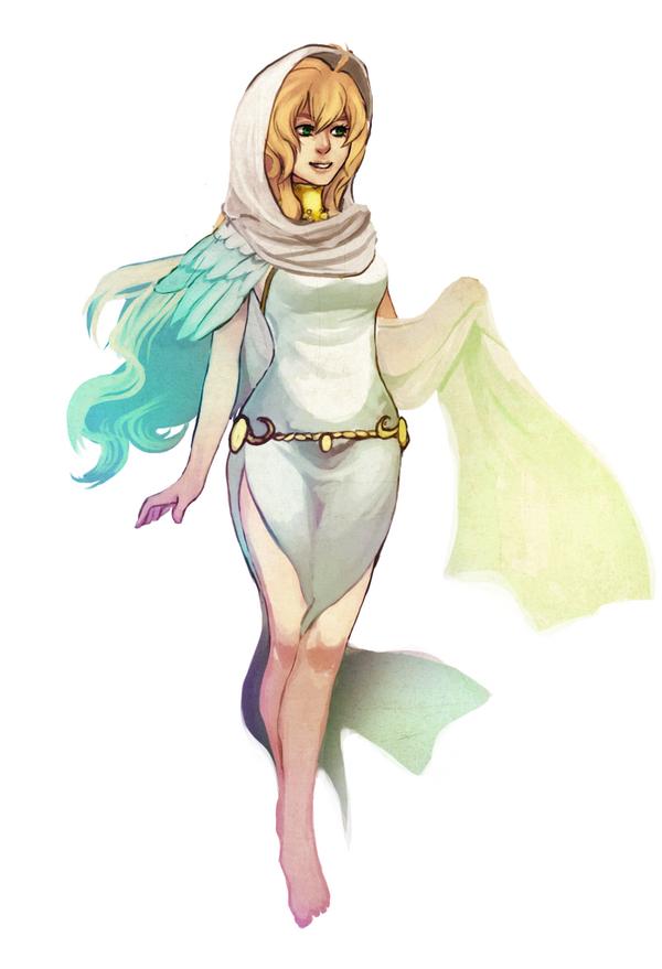 Aasimar Cleric by Renuski