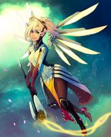 Mercy - overwatch by Renuski
