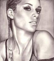 Alicia Keys by weezie