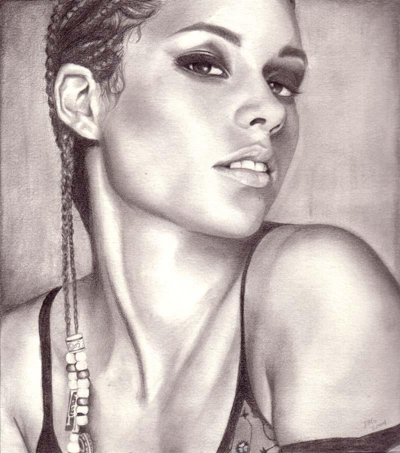 Alicia Keys by weezie