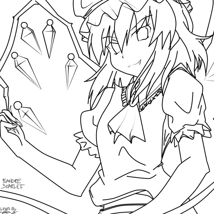 Anime Transform Flandre_Scarlet_by_agentjdx44