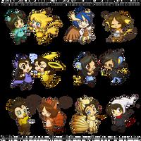 PokeChibi Friends by Ferisae