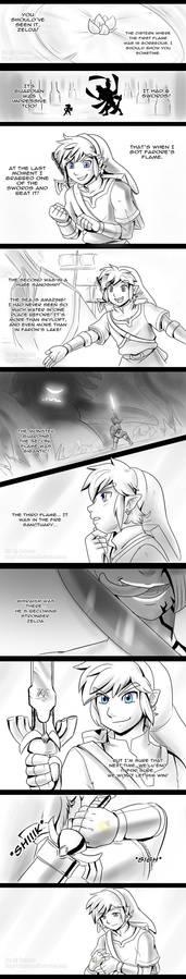 Skyward Sword - Waiting P. 1 - spoilers