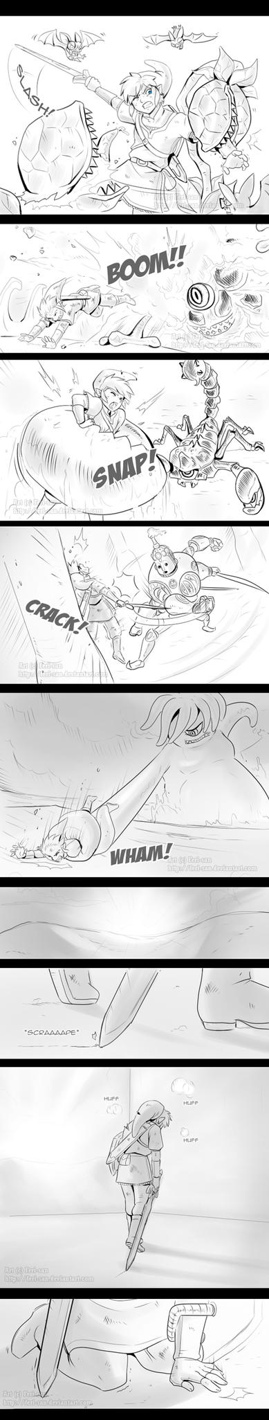 Skyward Sword - The Reason to Fight by Ferisae