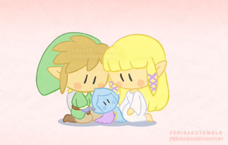 Dango Zelda by Ferisae