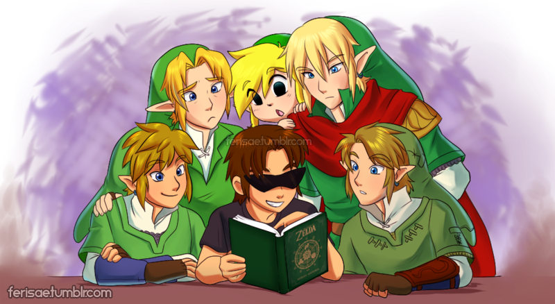 Comm - Hyrule Historia by Ferisae