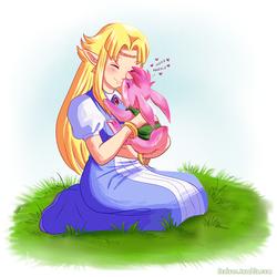 LOZ - Bunny Nose Kisses