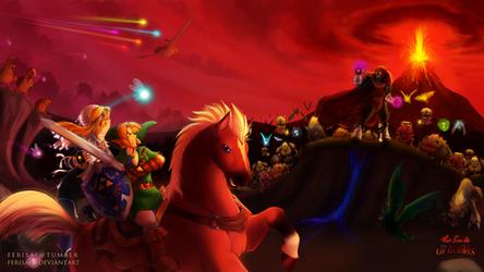 Zelda - War Without End by Ferisae