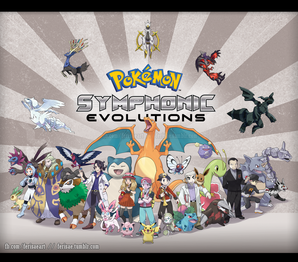 Pokemon:  Symphonic Evolutions by Ferisae