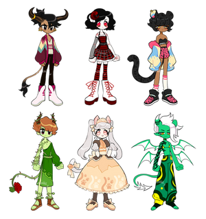 assorted theme adopts (3/6 OPEN)