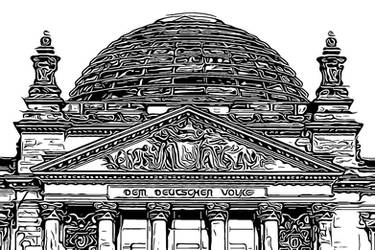 Berlin Series - Reichstag by Sigurd-Quast