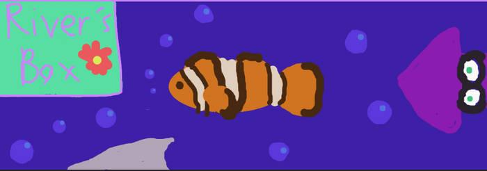 Splatoon squid found Nemo