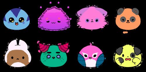 Lil' blob adopts