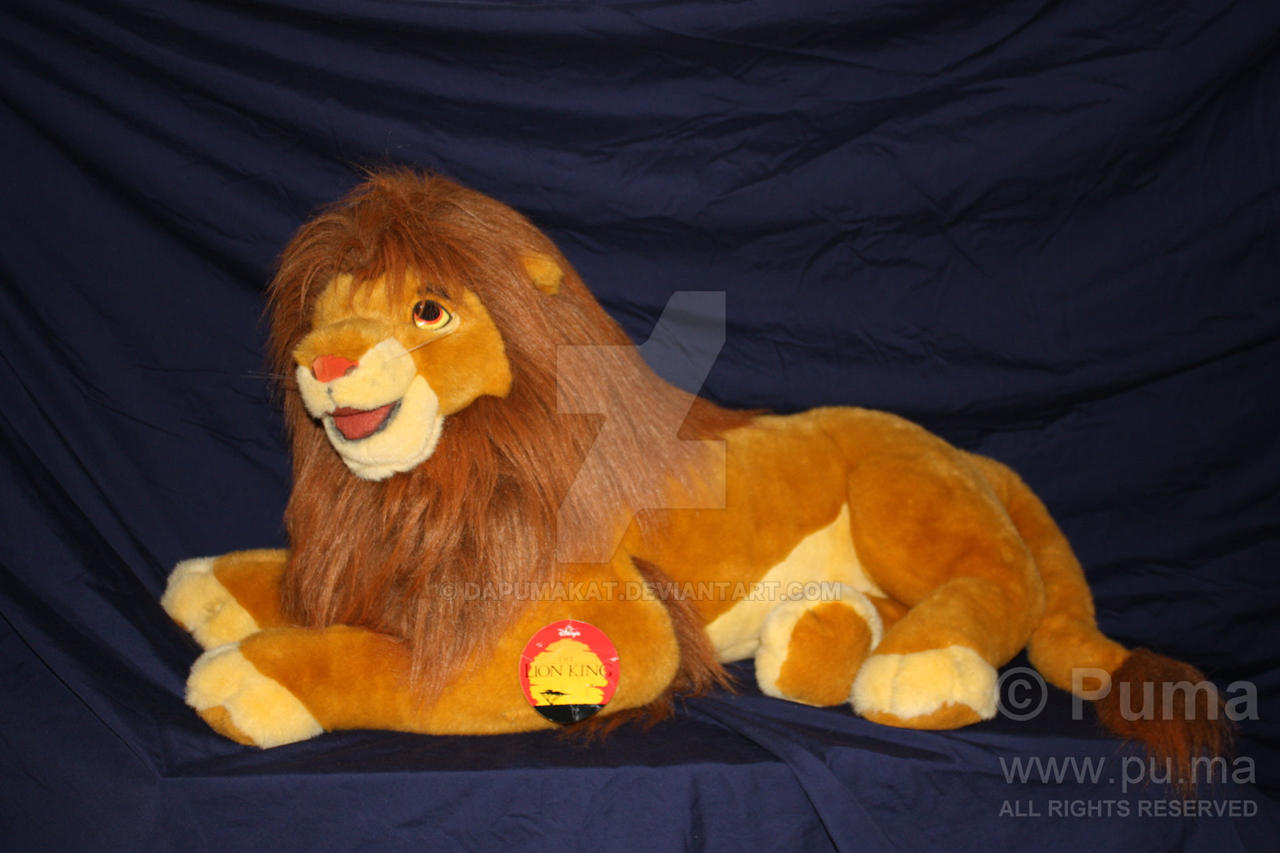 The Lion King Adult Simba Plush By Douglas Co By Dapumakat On
