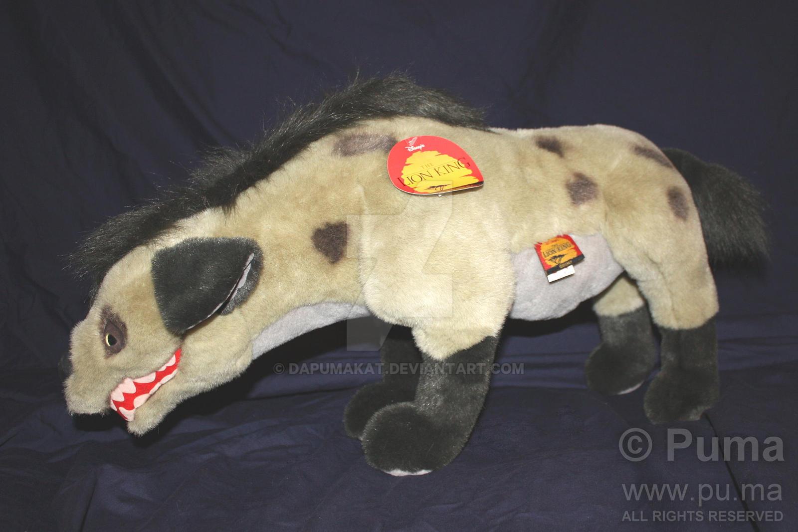 Disney - Large Shenzi the Hyena plush by Douglas