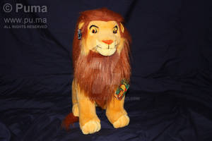 Adult Simba plush by Applause