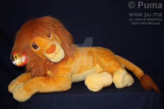 Mattel - Adult Simba Plush