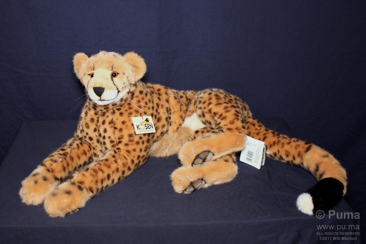Koesen 73cm Cheetah plush