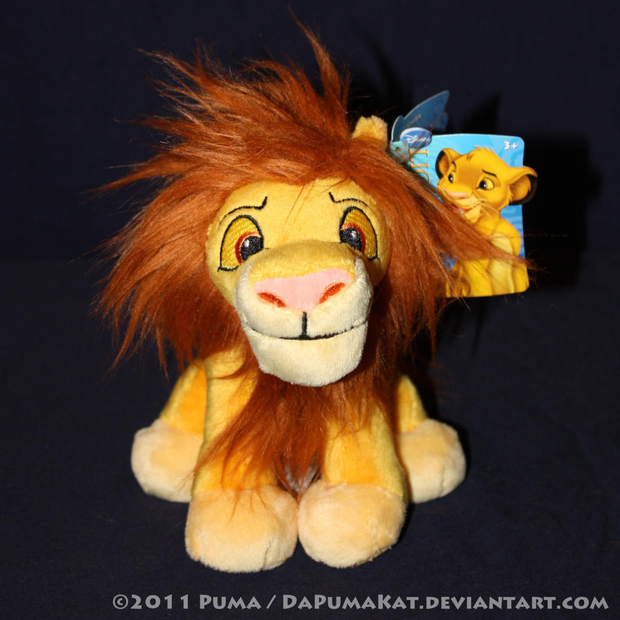 2011 Adult Simba plush beanie by dapumakat