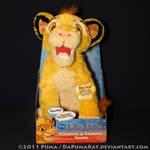 2011 Roaring Simba plush toy