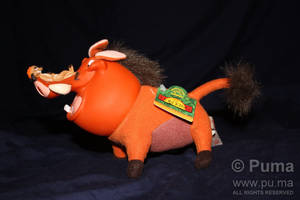 1994 Pumbaa plush by Applause by dapumakat