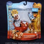2011 Pumbaa and Timon Figures
