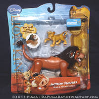 2011 Scar Action Figure by dapumakat