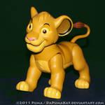 1995 Giant Simba action figure
