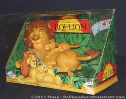 1995 Musical Mufasa and Simba