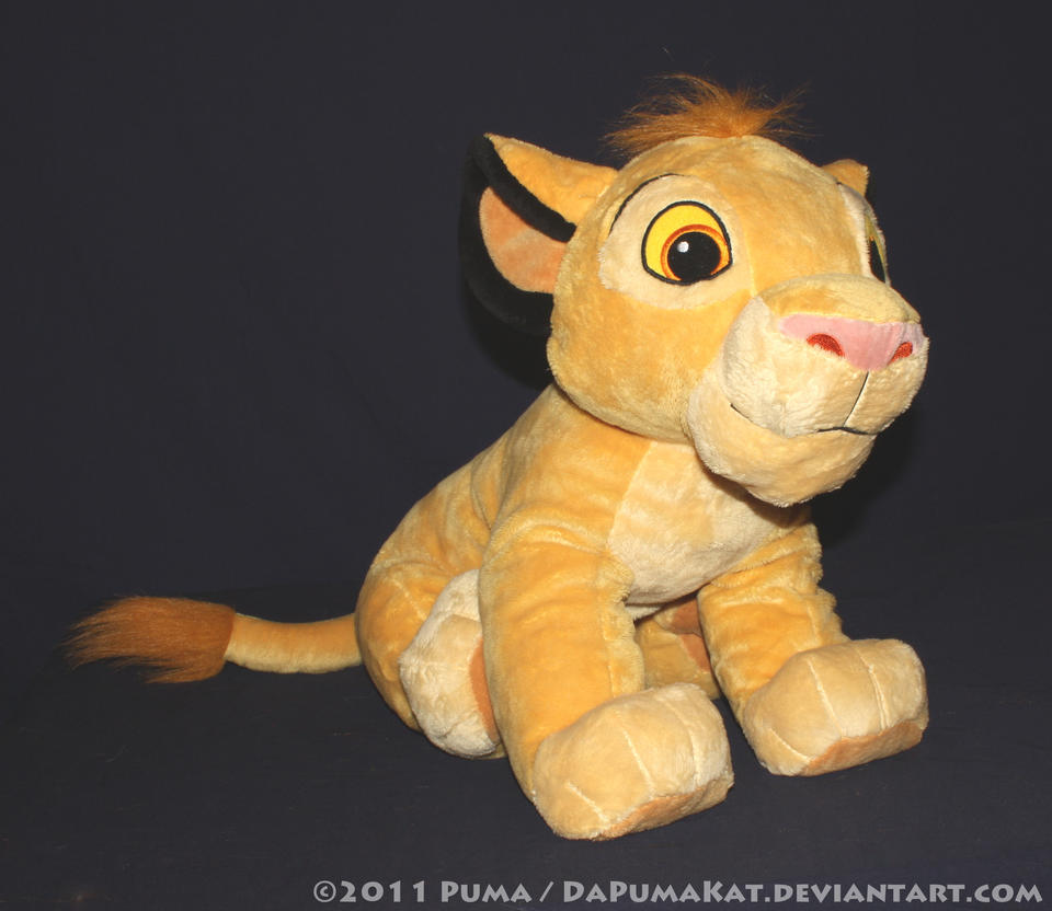 2011 Large cub Simba plush toy by dapumakat