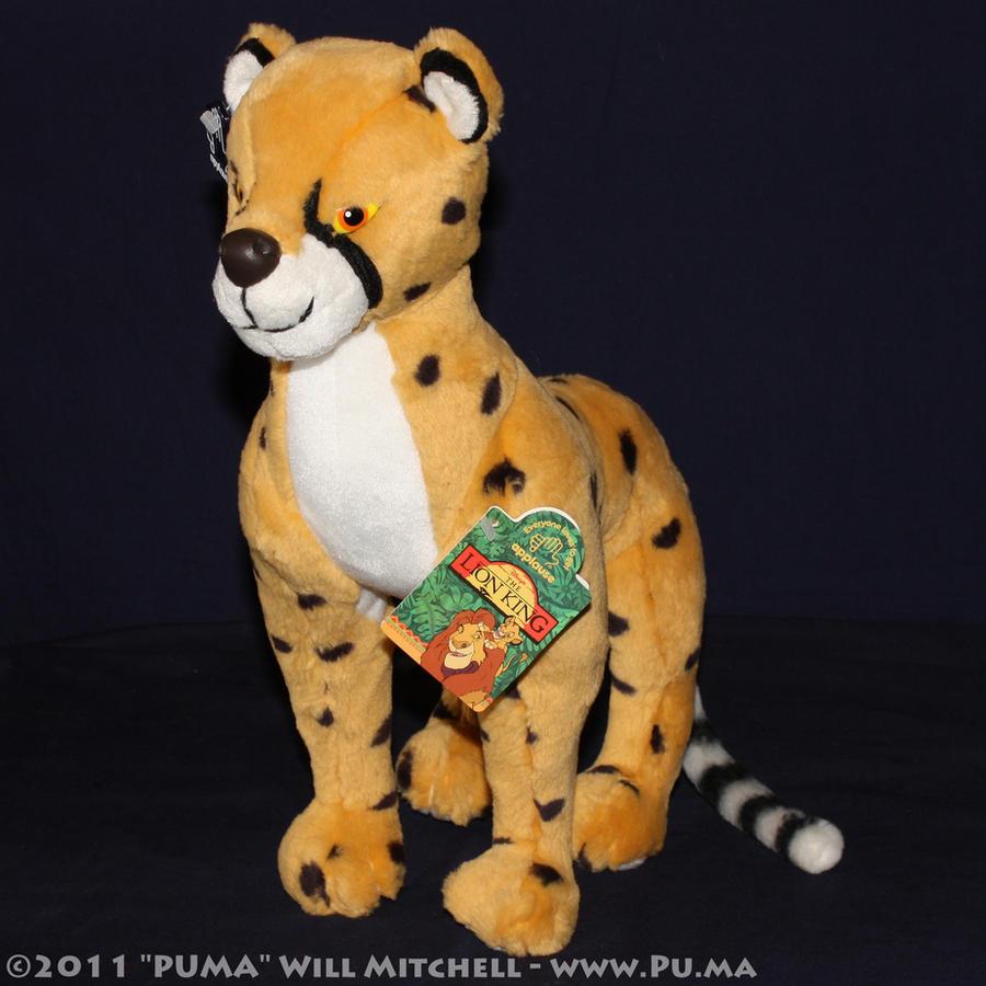 1994 Cheetah - Lion King plush by Applause