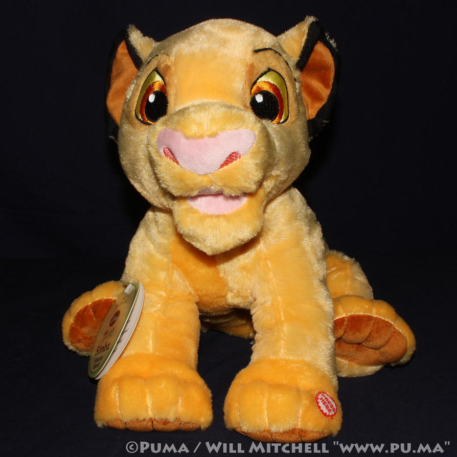 2011 Hallmark Lion King cub Simba talking plush by dapumakat