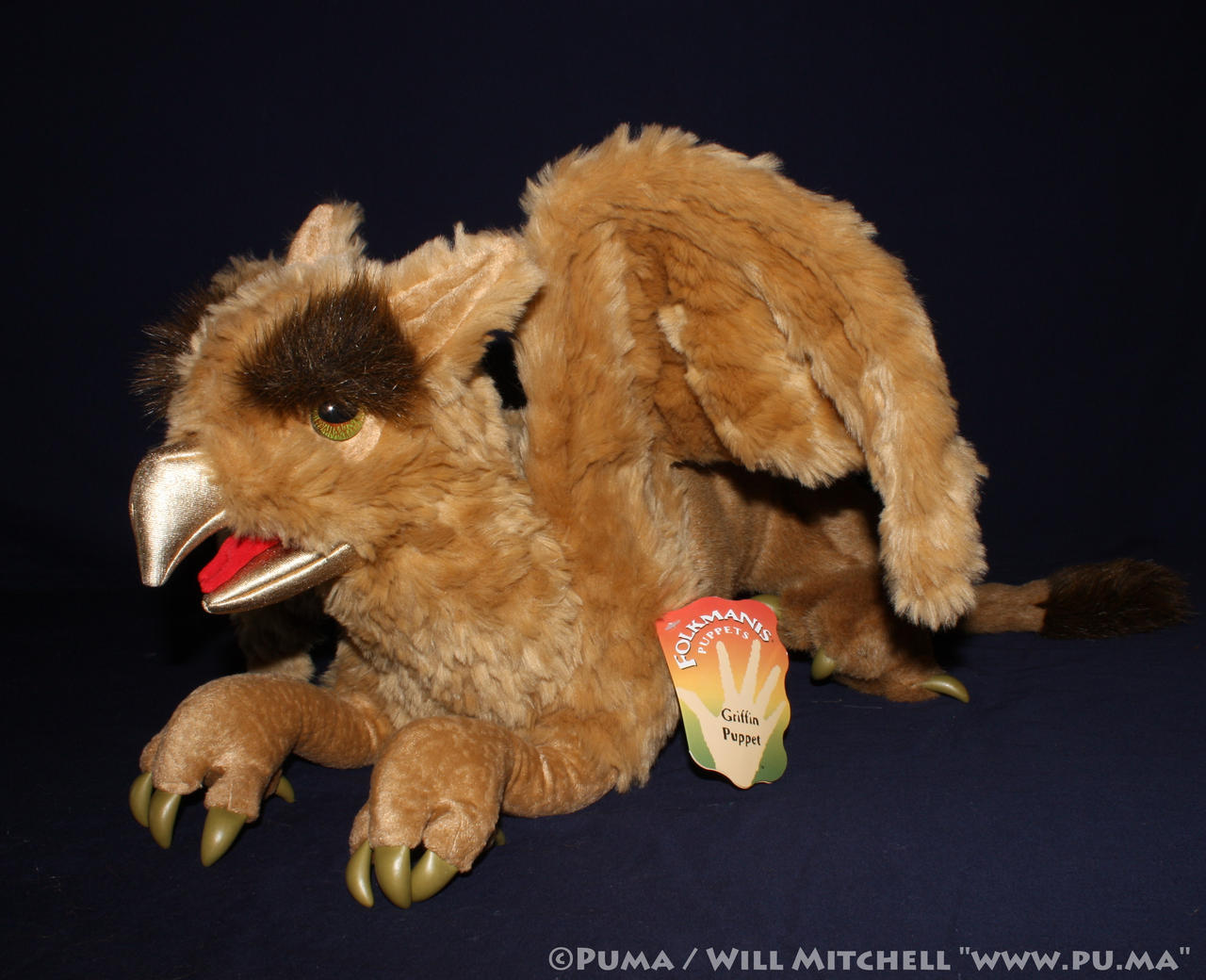 Folkmanis - Griffin puppet by dapumakat