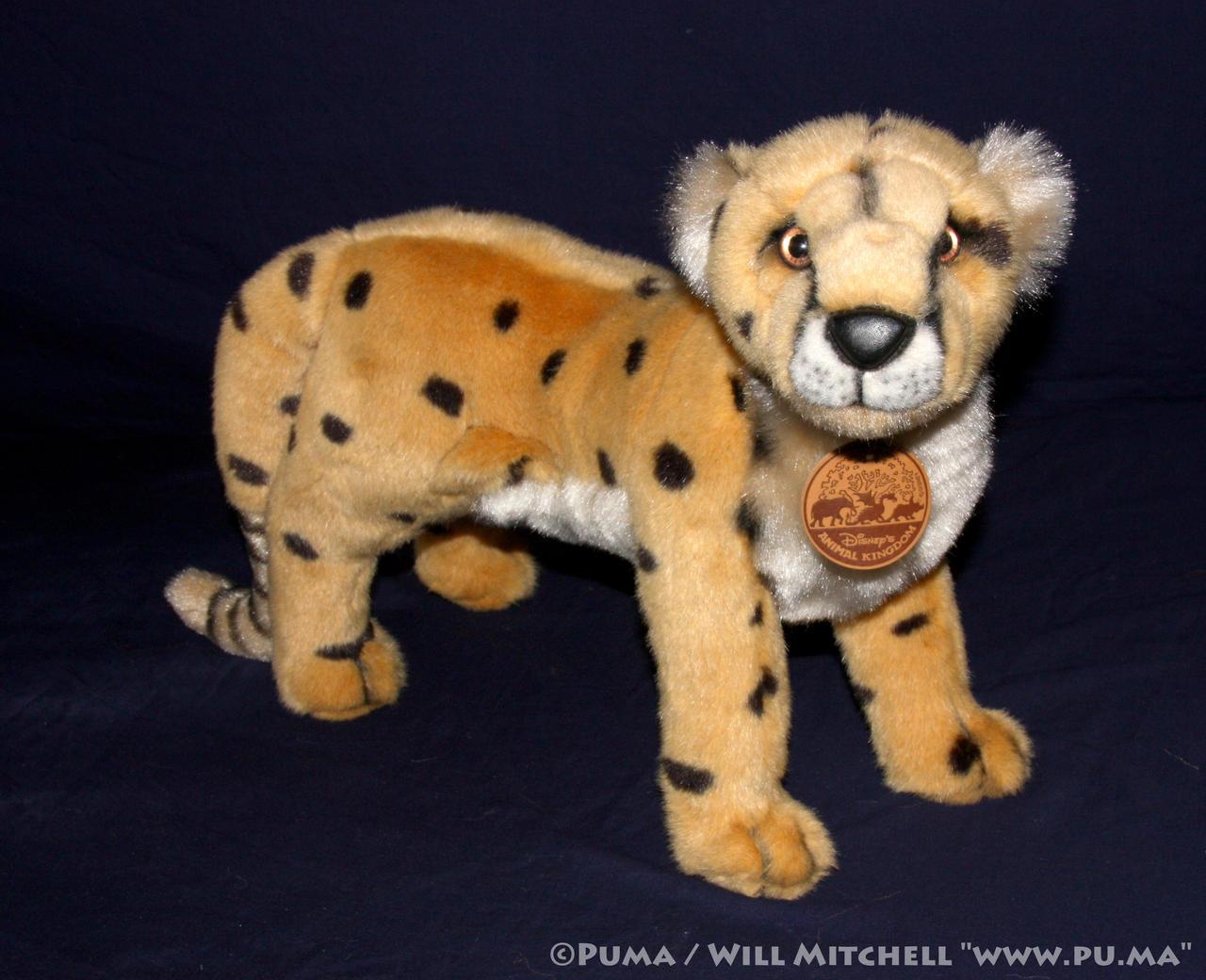 Disney Animal Kingdom - Cheetah plush 1996