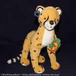 The Lion King - Cheetah plush by Applause (Dutch)