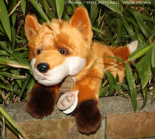 Yomiko Classics Collection Fox plush by Russ by dapumakat