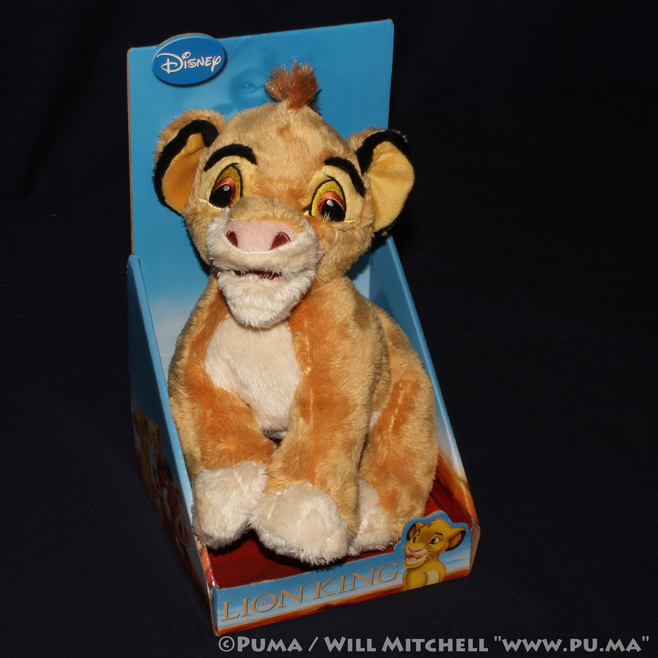 The Lion King - Cub Simba plush by JoyToy 2011 by dapumakat