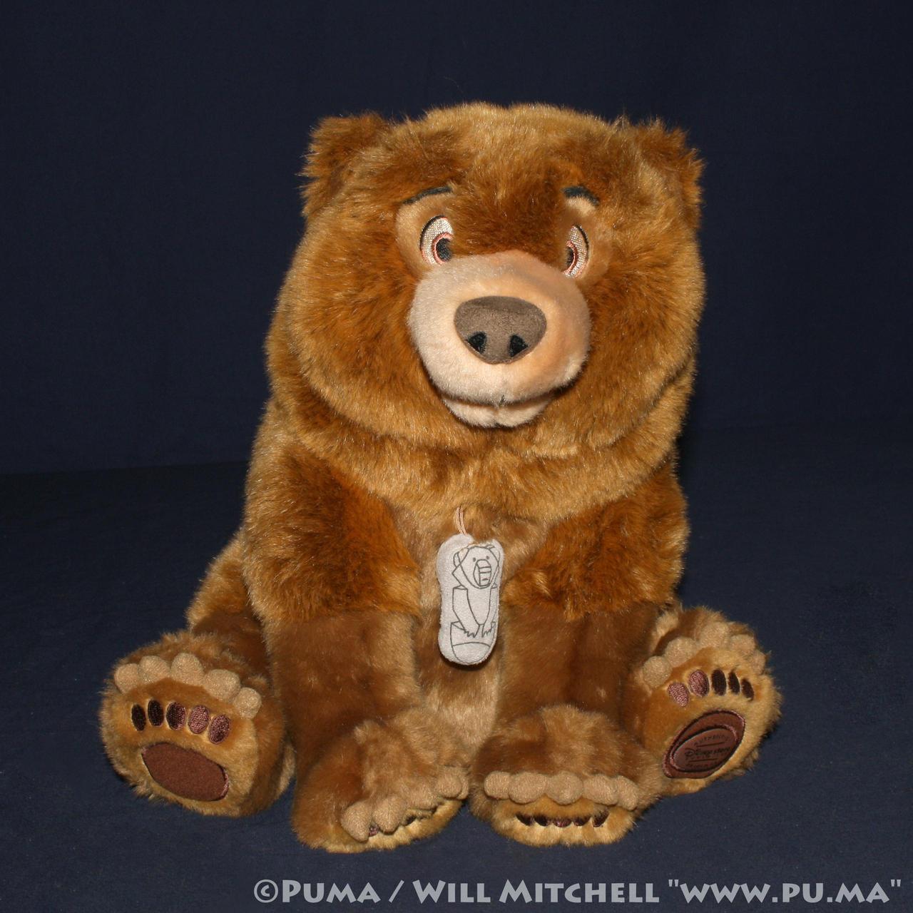 DisneyStore - Brother Bear - Kenai Plush 2003 by dapumakat