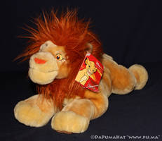 The Lion King - Adult Simba plush - Disneystore UK by dapumakat